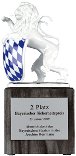 Bayern's lion trophy
